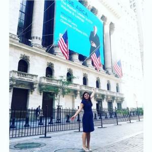 Sarah Saba enjoyed her summer in New York City.