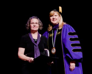 LeDayne McLeese Polaski received the Richard Furman Baptist Heritage Award.