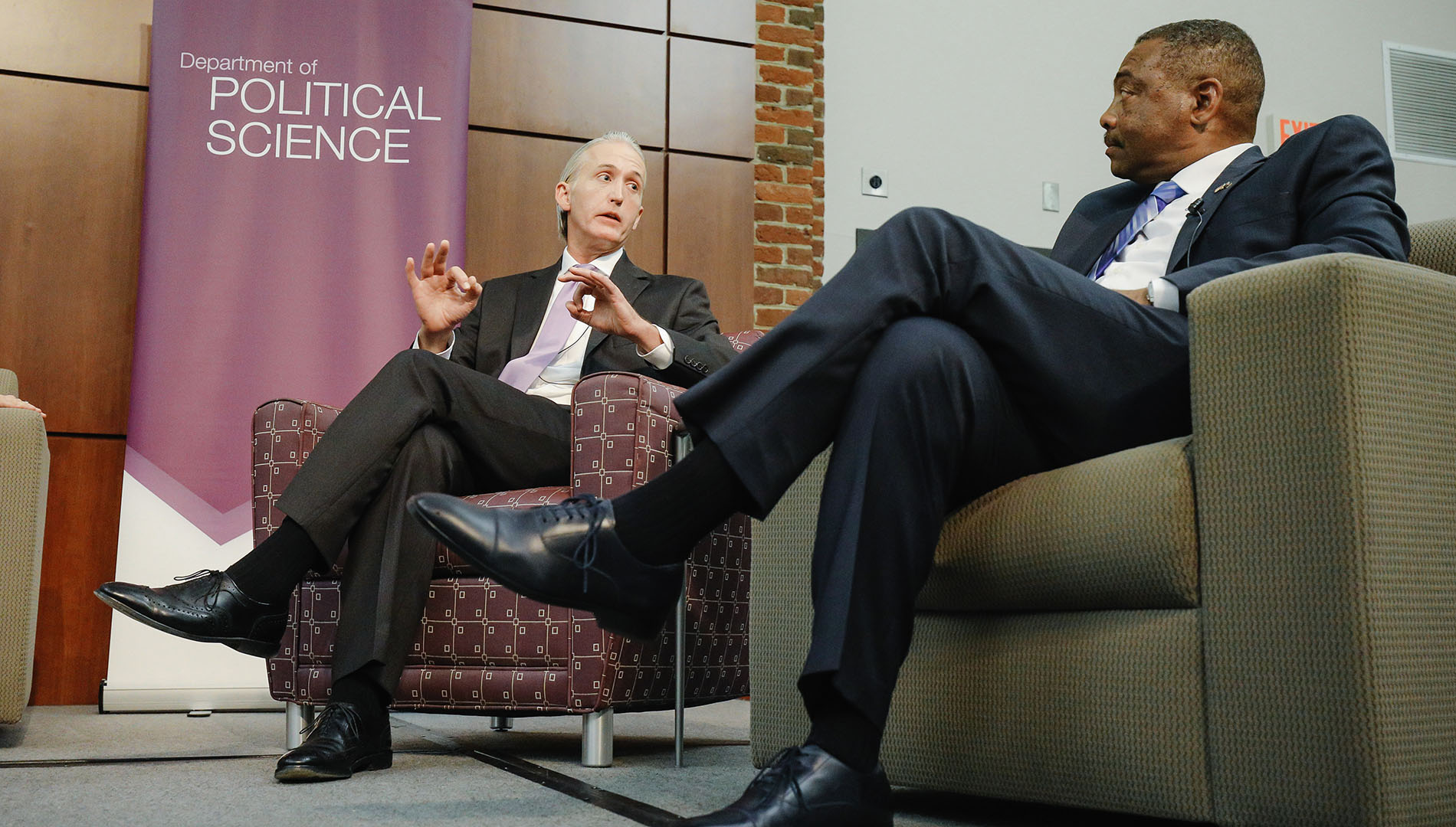Rep. Trey Gowdy and Democratic candidate Thomas Dixon