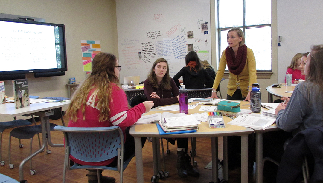 Classroom Design Project Based Learning ~ Furman education department opens new project based