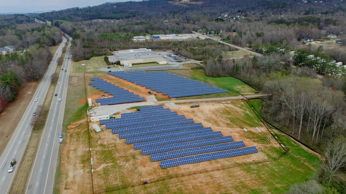 Furman completes 1 7m solar farm furman news for Solar ranch