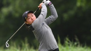 Furman senior Alice Chen at the 2018 NCAA Women's Golf Championship