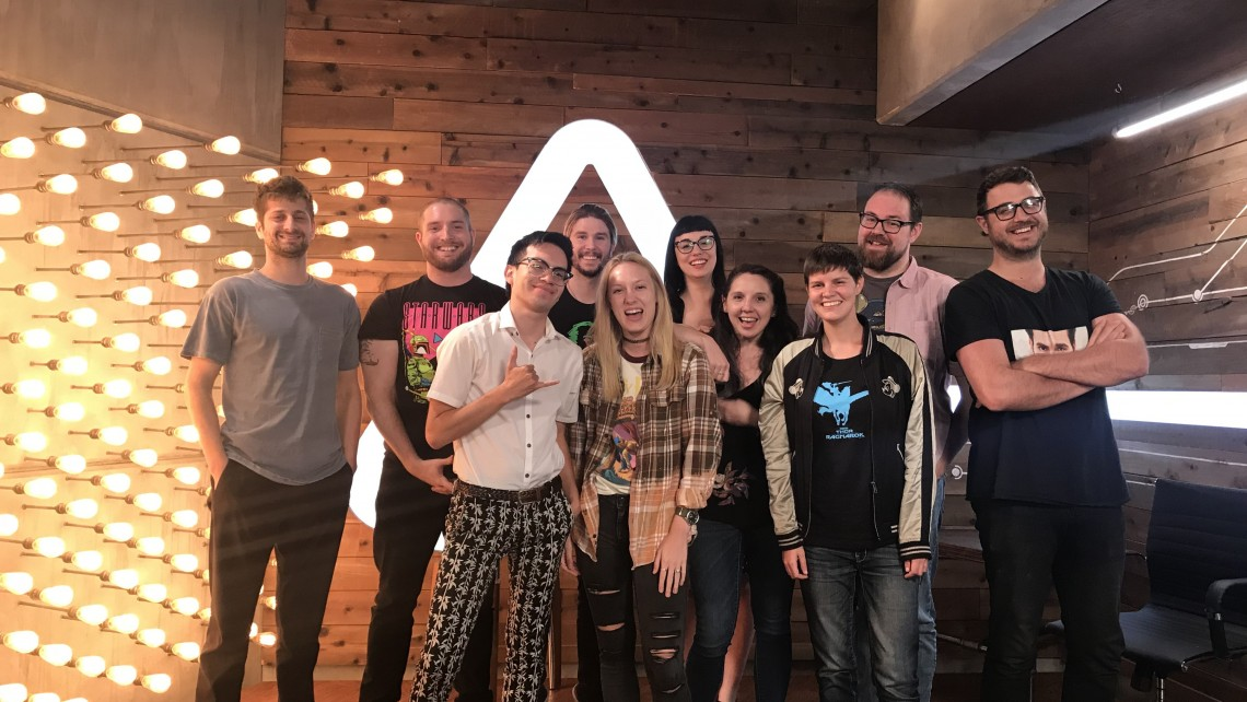Furman's Noelle Warner and the rest of the Nerdist editorial staff