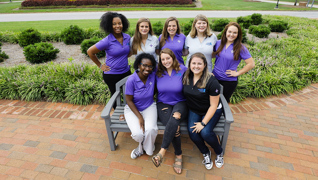 Volunteers with the Furman College Advising Corps