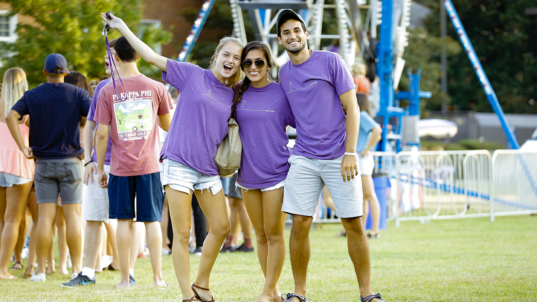 Giving Tuesday helps improve the Furman student experience.