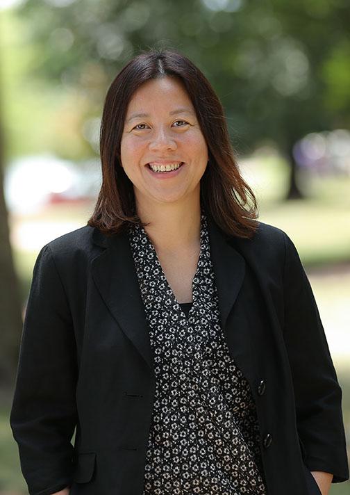 Furman Dean of International Admissions Candice Chan.