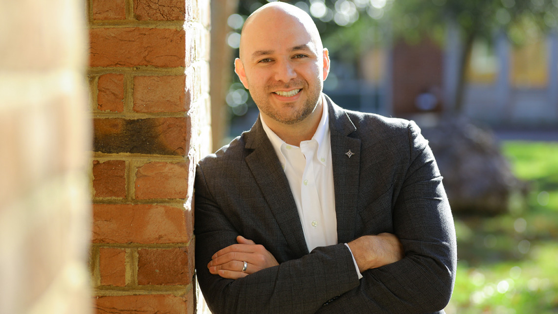 Anthony Herrera, executive director of Furman's new Office of Innovation and Entrepreneurship.