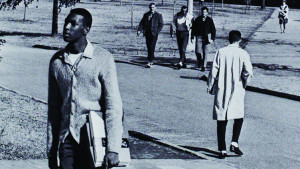 Furman's first African-American student, Joseph Vaughn