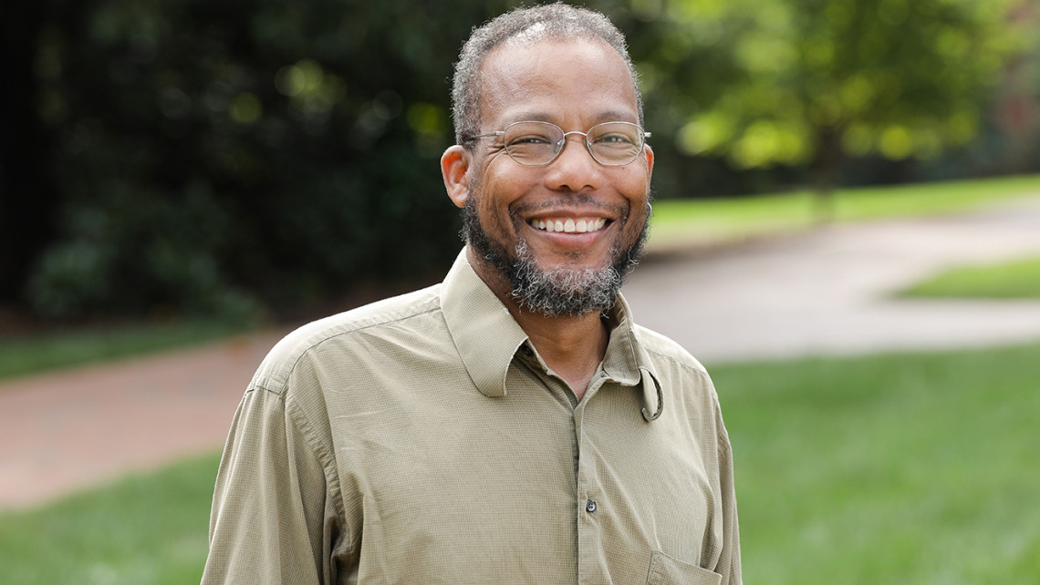 Furman professor of sustainability science Geoffrey Habron
