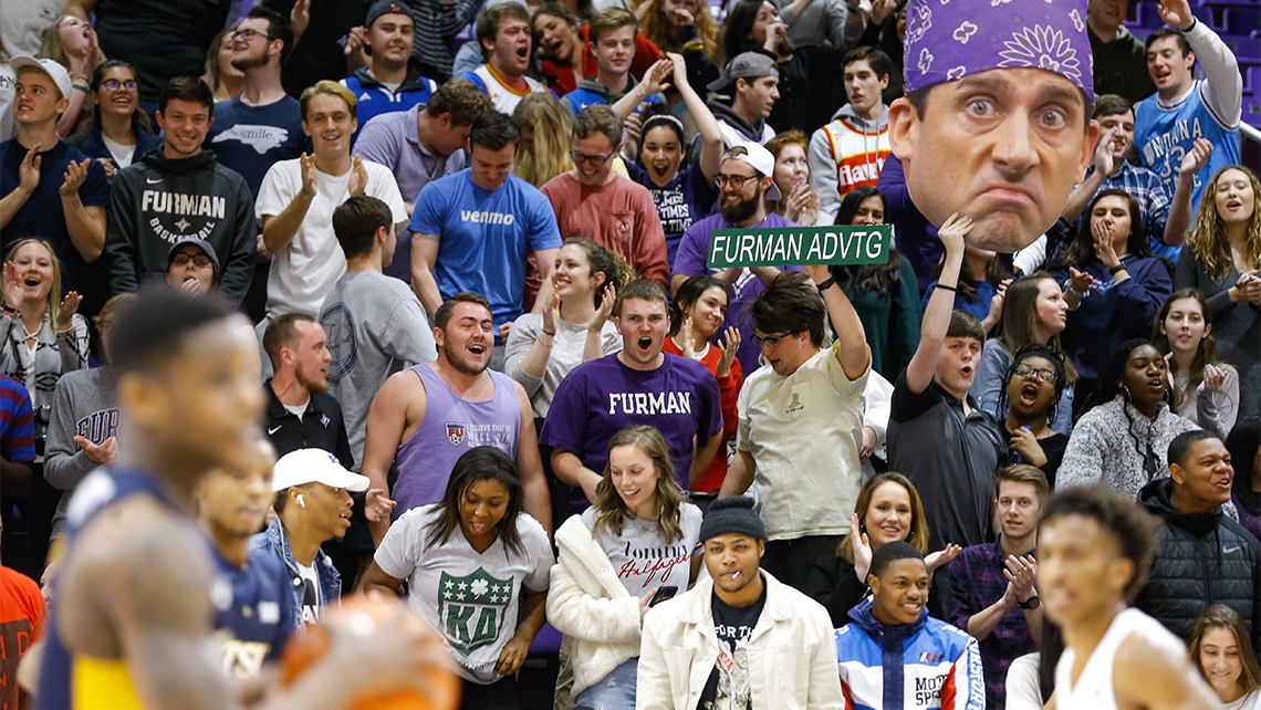 Saturday's Wofford at Furman game has sold out.
