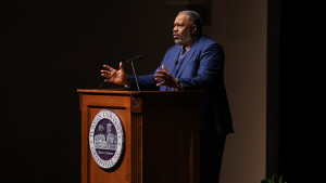 Anthony Ray Hinton speaks at Furman's McAlister Auditorium