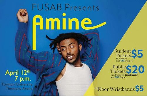 Wedding Crashers Amine.Fusab Presents Rapper Singer Songwriter Amine In Concert April 12
