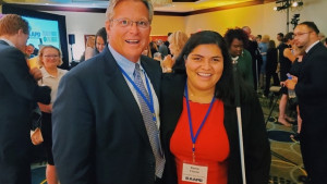 Ted Kennedy Jr. and Kenia Flores