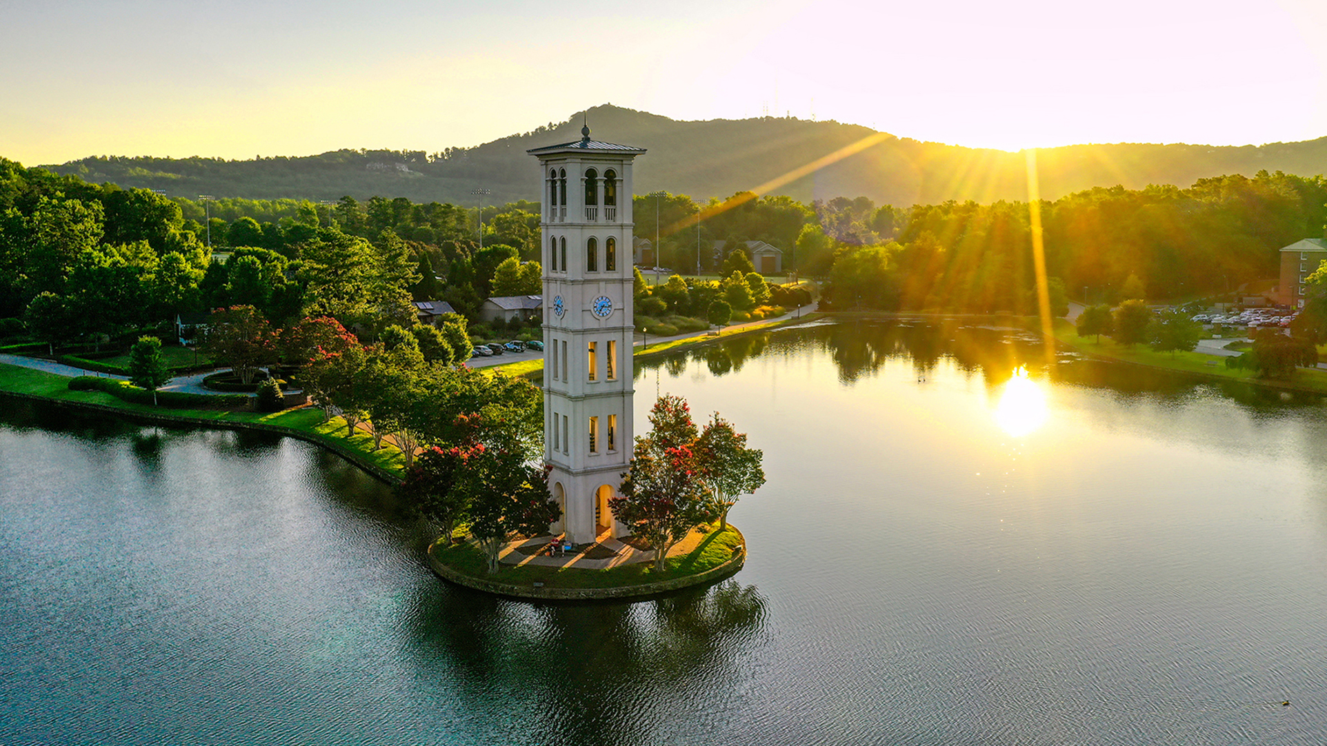 The Furman bell tower
