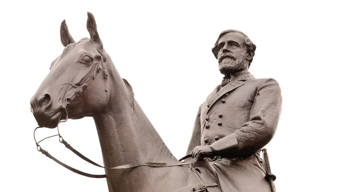 Statue of Robert E. Lee in Gettysburg