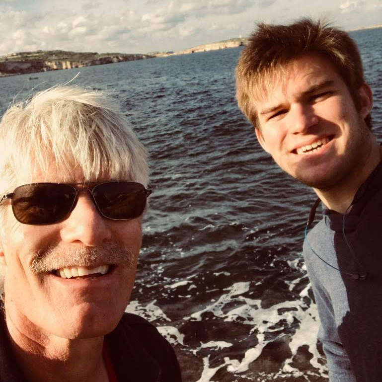 Brent Nelsen and Evan Myers '21