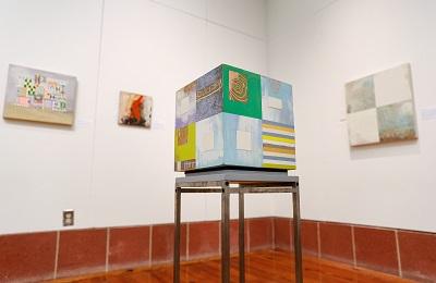 Installation photo, Matthew Baumgardner exhibition