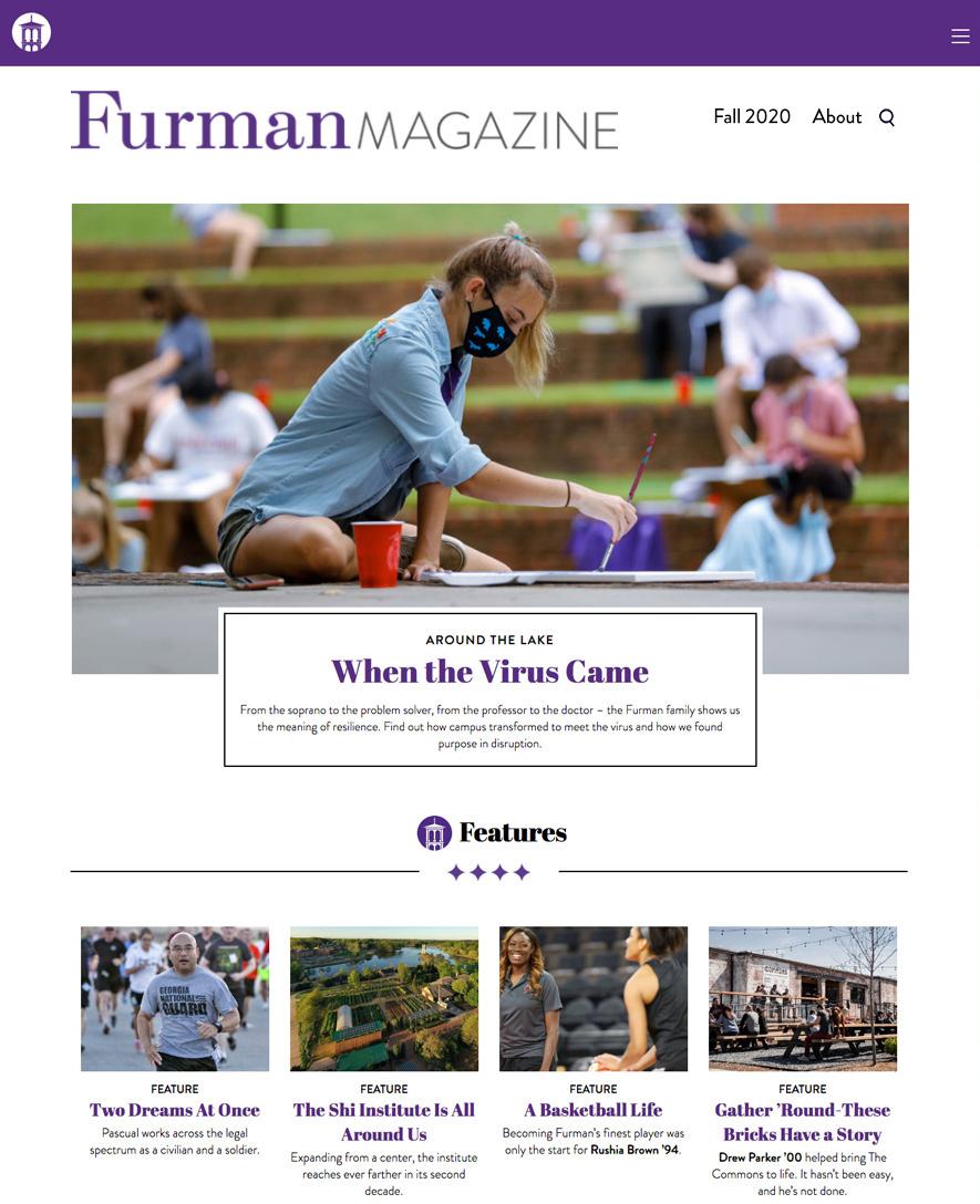 Furman Magazin logo