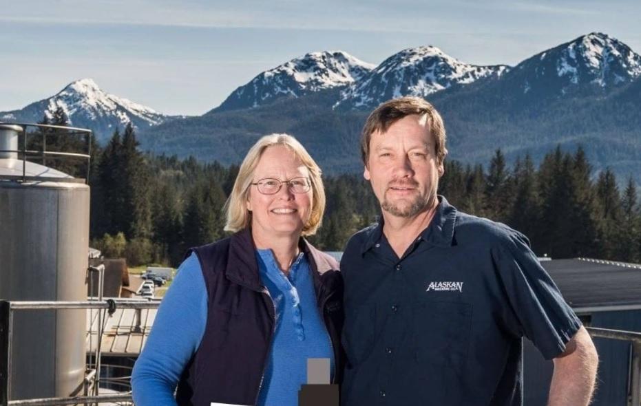 Marcy Bradley Larson and Geoff Larson