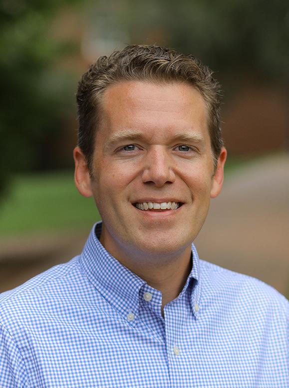 Furman Associate Professor of Communication Studies John A. McArthur '02