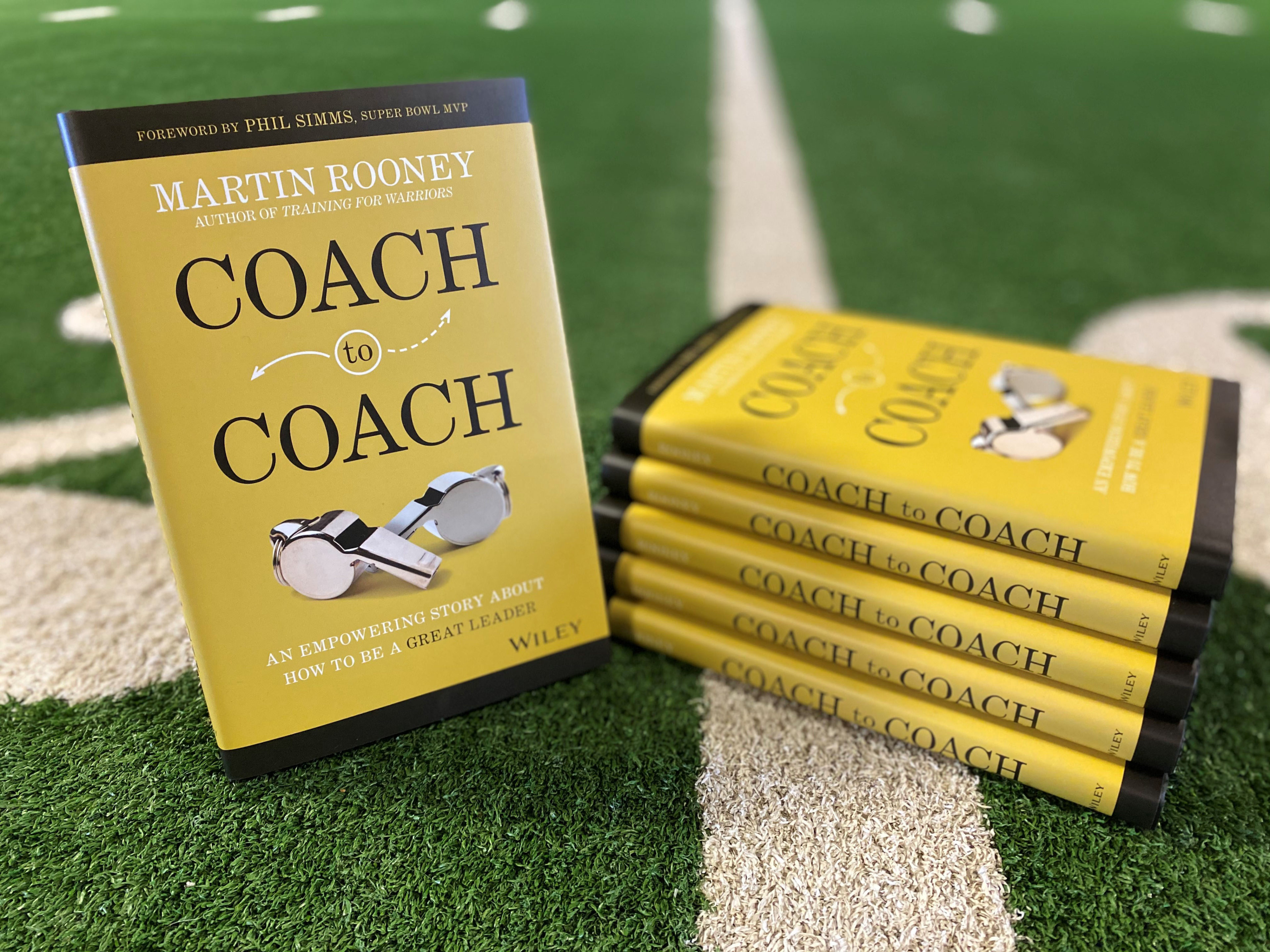 """The cover of """"Coach to Coach: An Empowering Story About How to Be a Great Leader"""""""