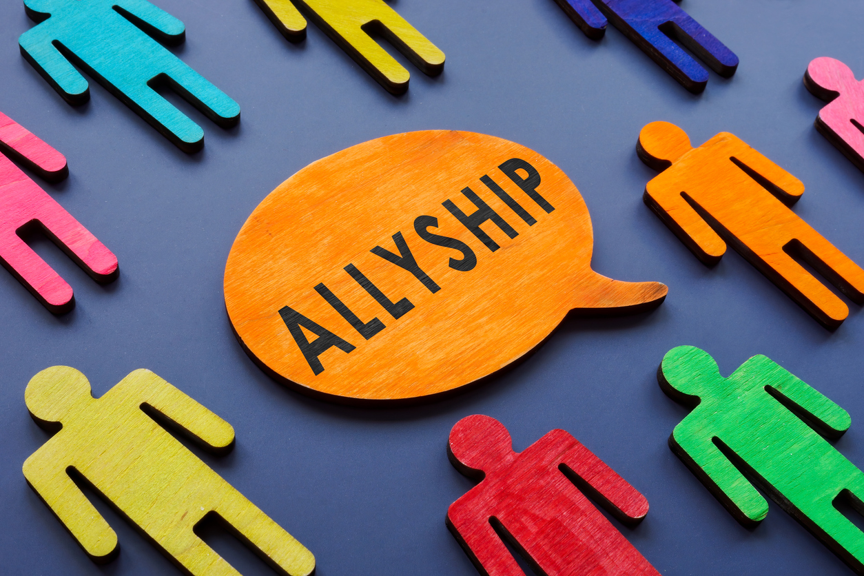 allyship graphic