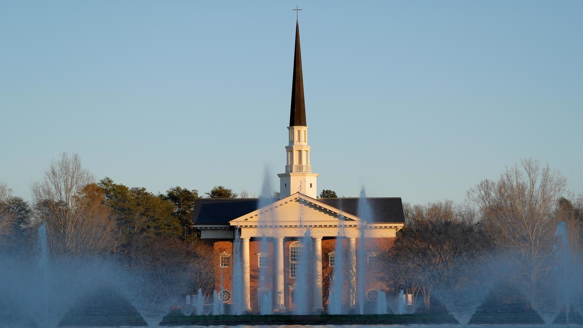 Charles E. Daniel Memorial Chapel.