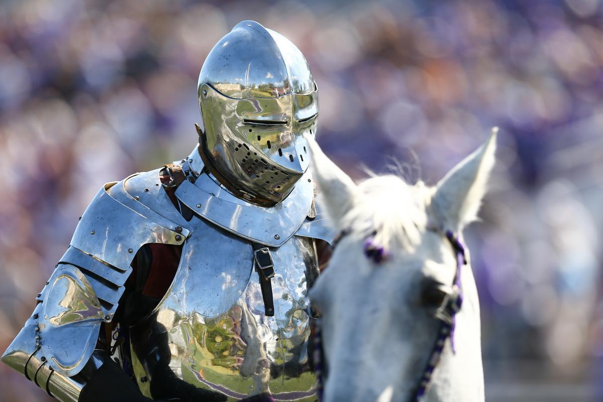 knight on horse, Furman Paladin