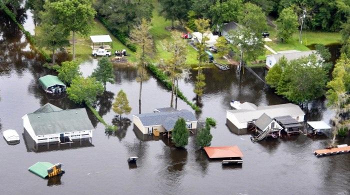 neighborhood flooding near Sumter, SC, U.S. Dept. of Agriculture