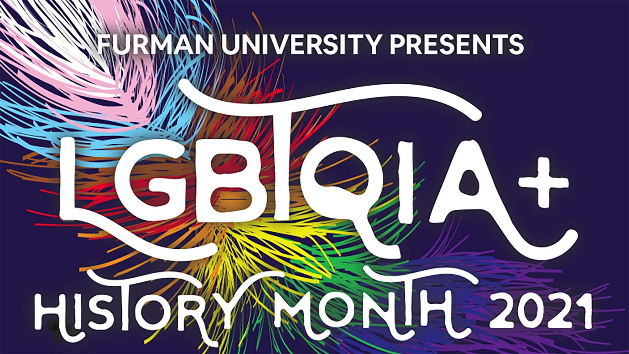 LGBTQIA+ History Month 2021 logo