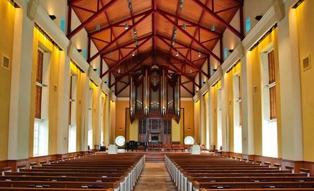 Daniel Chapel interior with Hartness Organ
