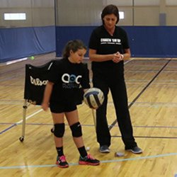 Teaching the Underhand Serve