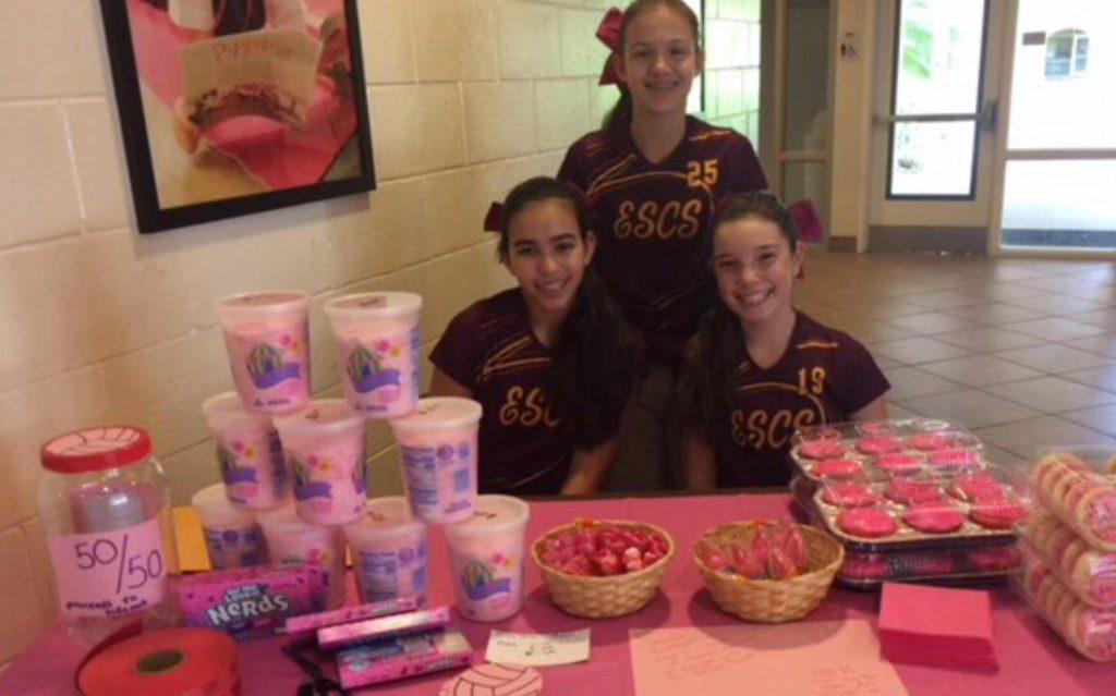 Espiritu Santo Catholic School Dig Pink