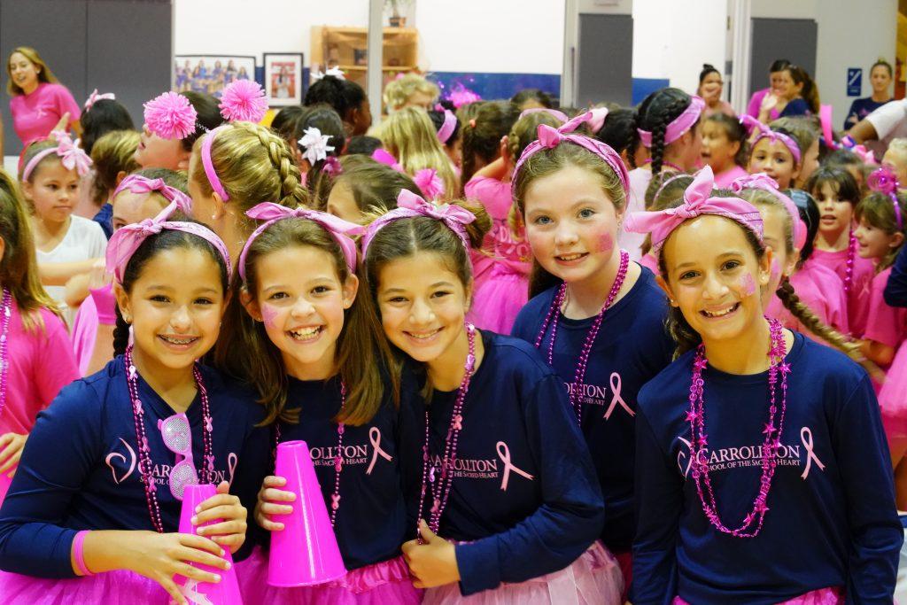 Carrollton Dig Pink Pep Rally