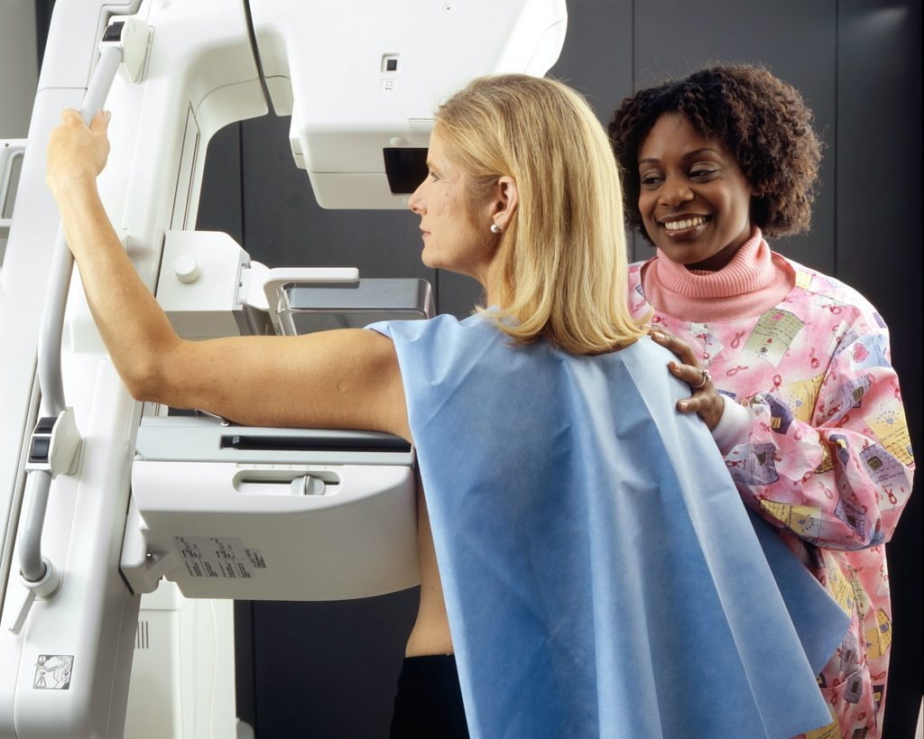 NCI Mammogram Picture