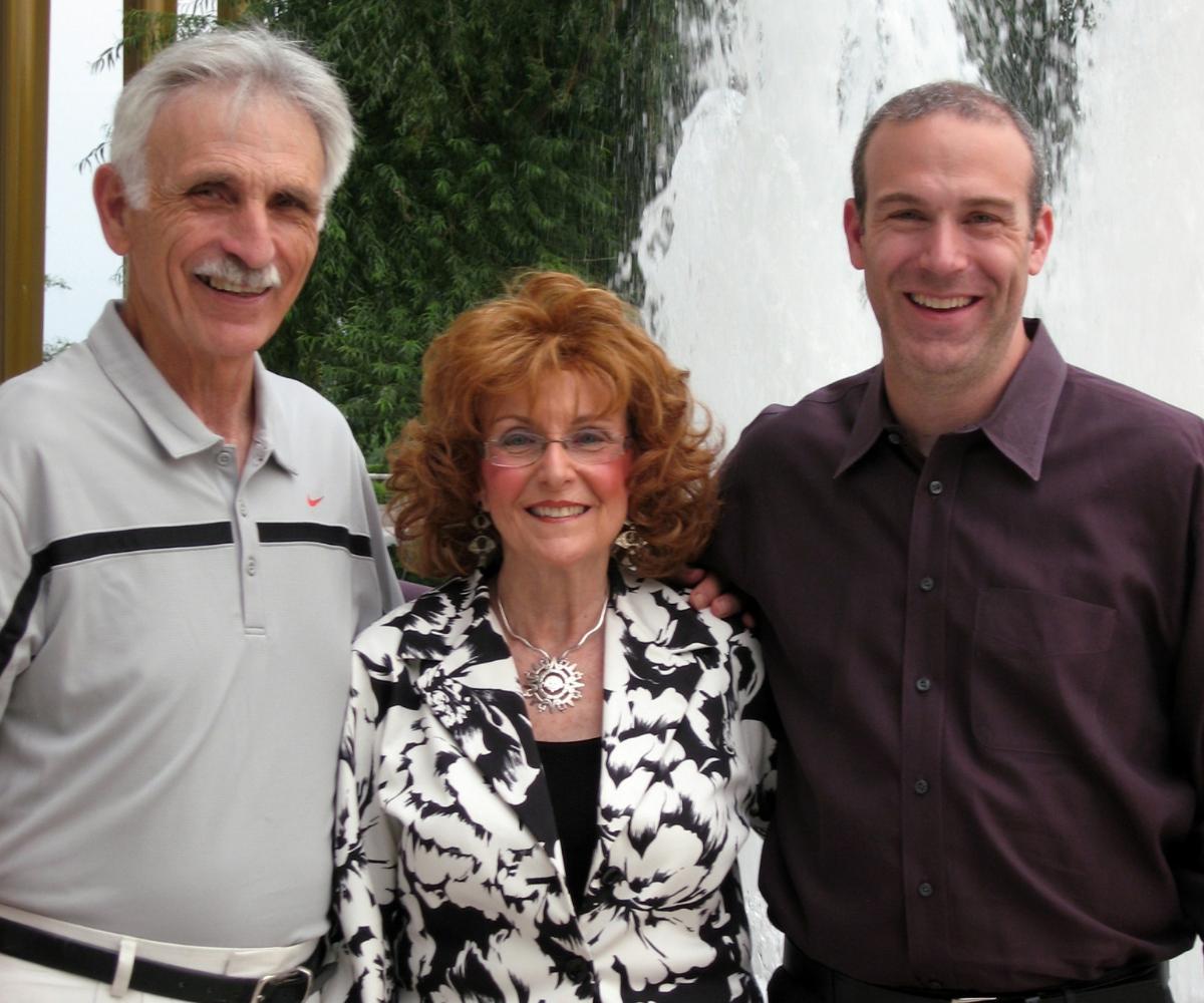 Bryant, Gloria, and Rick at Lion King Image