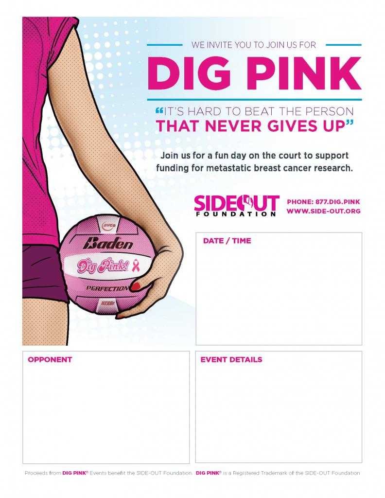 Dig Pink Poster 4