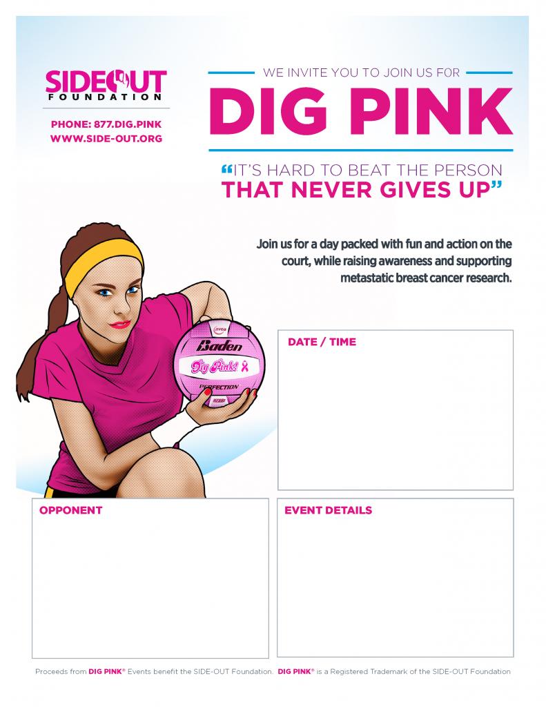 Dig Pink Poster 3