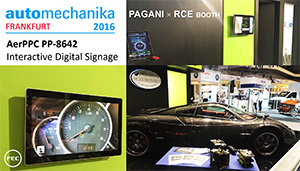 FEC PP-8642 in PAGANI's booth