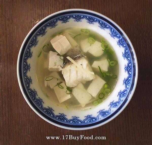 鮮甜豆腐青斑魚湯