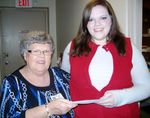 Marsh Regional Blood Center awards inaugural Holiday Heroes scholarship to local student