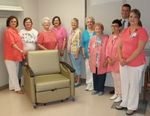 Mountain View Regional Medical Center auxiliary buys four sleeper chairs, increasing visitors' comfort