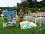 Local Eagle Scout builds games that will enhance experience for children at Camp Caterpillar