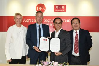 CHOW TAI FOOK TO OPEN FIRST BRANDED STORE IN HAWAII IN PARTNERSHIP WITH DFS GROUP