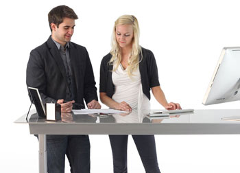 Air Adjustable Desk