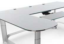 height adjustable customizable desk