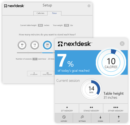 Xdesk pulse interface