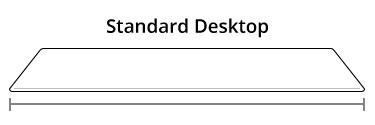 """Standard 60"""" Width Desktop"""