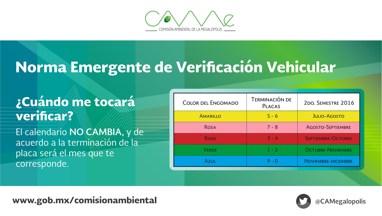 Nueva Norma de Verificación Vehicular, todo lo que debes saber