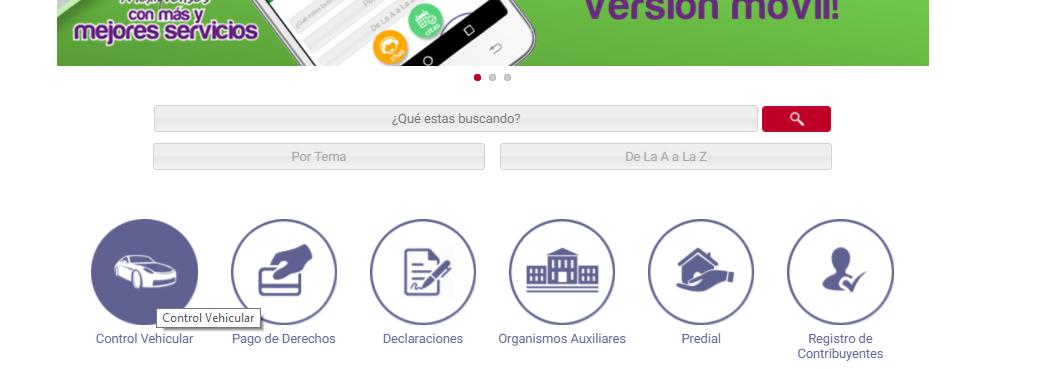Citas por internet para placas del estado de mexico